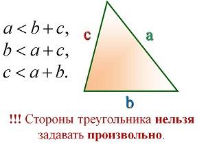 Отношение углов к сторонам в прямоугольном треугольнике